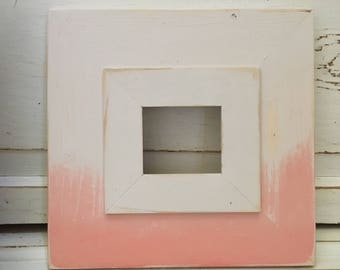 Handmade 4x4 Picture Frame Ombré