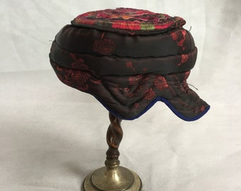 Antique traditional chinese hat, possibly a child's