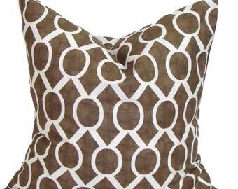 BROWN EURO PILLOW.26x26 inch.Pillow.Pillow Cover.Brown Pillow Sham.Euro Pillow.Cushion.Cushion.Home Decor.Housewares.Euro.Sham.Large.Floor