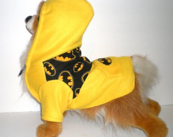 Dog clothes, Dog Batman Hoodie, Pet hoodie, Batman hoodie, Dog hoodie, Dog clothes