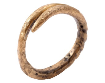 Ancient Viking Wedding Ring for Medieval Warriors Actual Refurbished Ancient Ring for Daily Wear Size  10  C.900-1000 A.D. [cj65]