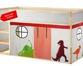Dinosaur Bed curtain