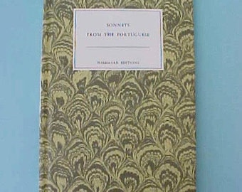 """Charming Edition of """"Sonnets From the Portuguese"""" by Elizabeth Barrett Browning"""