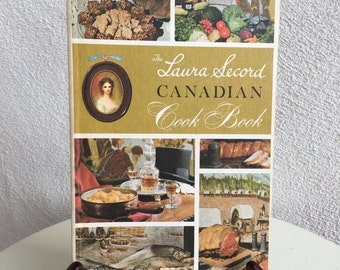 Vintage Laura Secord Canadian Cook Book paperback