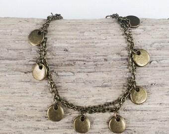 FLOUISH Bracelet - Arise Creations - Delicate Jewelry - Bronze Bracelet - Galatians 5:22-23 - Fruit of the Spirit - Gift for Her