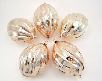 Vintage Italian Christmas Ornaments Mouthblown Glass Christmas Decorations Mid Century Baubles