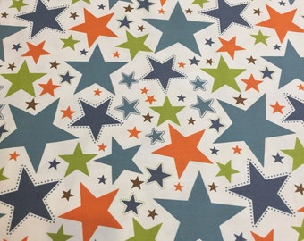 All star riley blake duck cloth fabric 1 yard