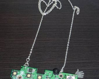 Nerd jewelry necklace