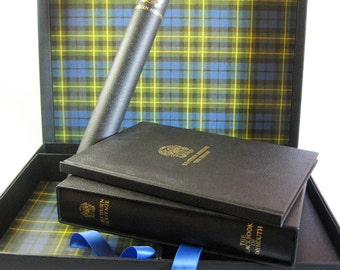 Kilchurn Heritage - Vintage Scottish History Numbered Edition Boxed Set - Scotland Castle - Duncan Family Campbell Tartan Coffee Table Book