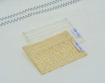 Minimalist Hojo wallet, Cuben Fiber, Kevlar Wallet, Recycled Sail, Card Holder, Sailcloth Wallet