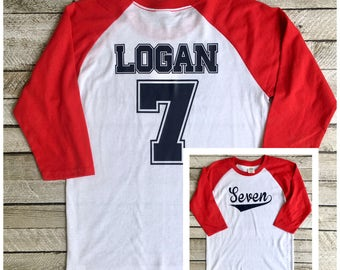 Boys Birthday Shirt, Baseball Birthday Shirt, Boys Baseball Shirt, Group Discounts, Birthday Shirts, Mom and Dad Matching Shirts