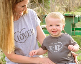 Lover/Fighter Mommy and Me Set