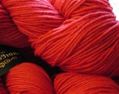 Yarn Merino Wool Red Hand...