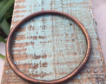 copper bracelet- size large
