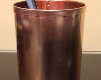 CH00021 Raw Copper Standard Pencil Pen Holder