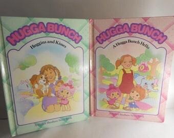 2 Vintage Hugga Bunch children's books