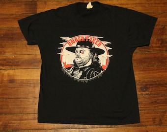 WWF Wrestling shirt the Undertaker vintage tshirt 1991 WWE small medium