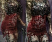 Dark metal Baal top