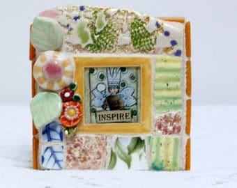 INSPIRE mosaic, mosaic art