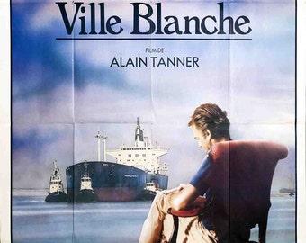 Dans La Ville Blanche (FOLDED)-1983 Poster