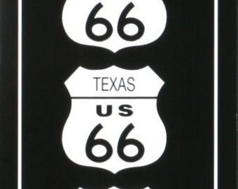 Rod Kennedy-Route 66 (Black & White)-1995 Poster