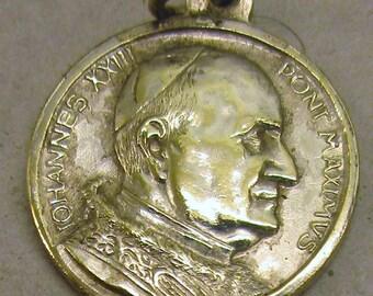 Beautiful Vintage Pope John XXIII Medal - circa 1960s