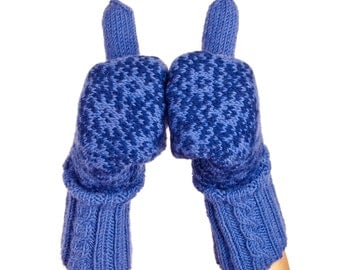 Estonian Mittens in Muhu Island Design. Winter Mittens Wool Mittens Merino mittens Warm Gloves