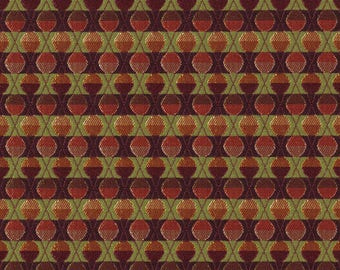 By The Yard Knoll Upholstery Fabric Geometric in Charm Amethyst K10498 (NX1)