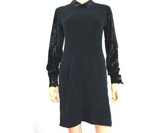 Vintage Chantal Thomass  black long sleeves Dress