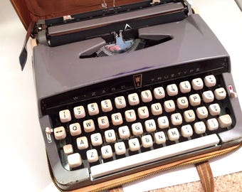Wizard Truetype Brother Manual Typewriter, 1960s