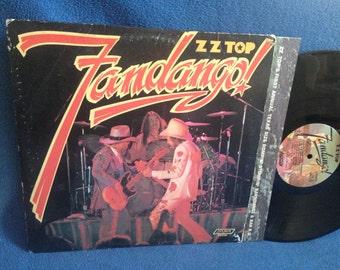 "Vintage, ZZ Top - ""Fandango"", Vinyl LP, Record Album, Original First Press, Balinese, Heard It On The X, Tush, Southern Rock"