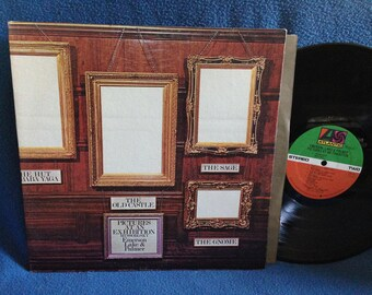 """Vintage, Emerson Lake & Palmer - """"Pictures At An Exhibition"""" Vinyl LP Record Album, Blues Variations, ELP, Synthesizer, Prog Rock. Psych"""