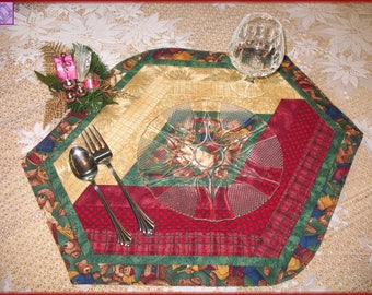 Quilted Christmas Placemats Joyful Angels 131