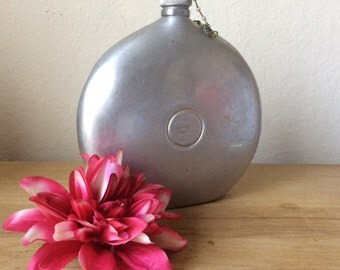 Vintage Landers, Frary, & Clark Aluminum Canteen, Made in USA