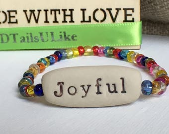 Essential Oil Diffuser with motivational message. Inspirational Bracelet For Her, Gift Ideas for Graduation