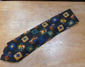 Disney Pooh necktie Winnie the Pooh and Tigger