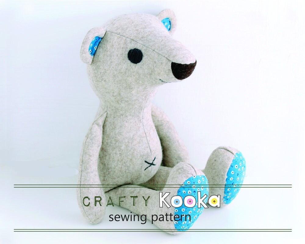 Stuffed toy sewing pattern pdf step by step sewing tutorials sewing pattern bundle jeuxipadfo Images