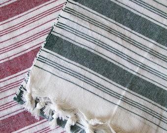 Turkish Towel Peshtemal - 100% Cotton Hamam Towel Turkish Towel Beach, Gym Towel or Throw
