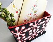 SALE--Funky Napkin Holder, napkin holder, table napkin, kitchen storage, ceramic napkin
