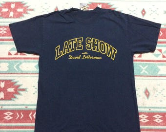 Vintage Late Show with David Letterman T-Shirt