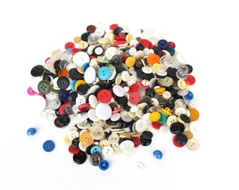 Lot of Soviet vintage buttons Vintage buttons Vintage sewing supplies Buttons bulk lot Old buttons