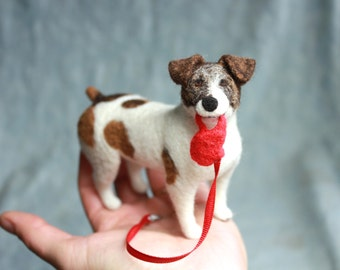 "3D Pet Portrait - Custom Felted ""Fiber Friends"" that Match Your Pet Perfectly"