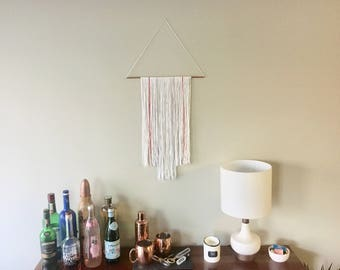 Copper Pipe Yarn Wall Hanging