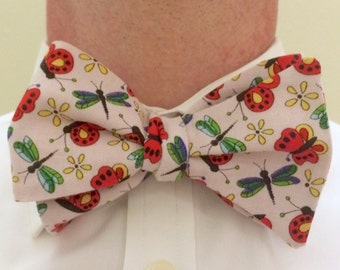 Dragonfly Bow Tie