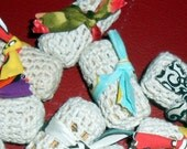 CAT TOYS Wine Cork Crochet Catnip Toys - Set of 3