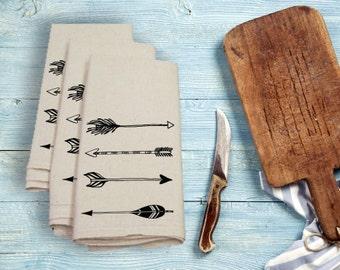 Arrows Tea Towel Flour Sack Towel Kitchen Towel