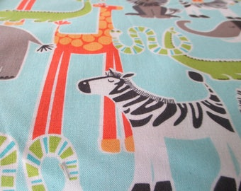 Quilting Weight Cotton Fabric Safari Friends by Michael Miller 1 yard