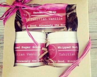 Tahitian Vanilla Gift Set