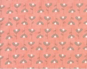 Moda-Corner of 5th & Fun Bleeding Hearts by Sandy Gervais in Roise Cheeks 17907-12