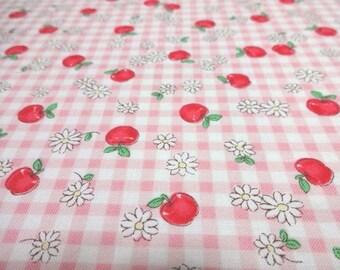 Japanese Fabric QUILT GATE APPLEMARGUERITE Pink Fat Quarter